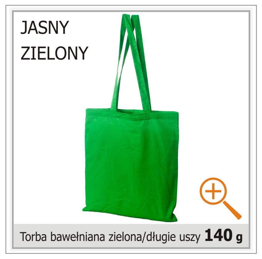 torba bawelniana zielona
