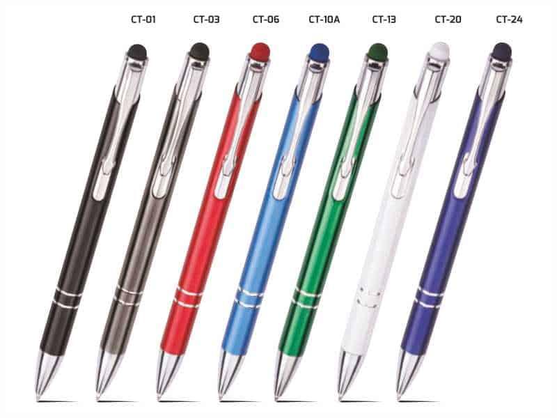 metalowy dlugopis z grawerem Cosmo Touch Pen