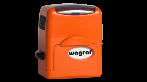 Pieczątka Wagraf 1s pomarańczowa