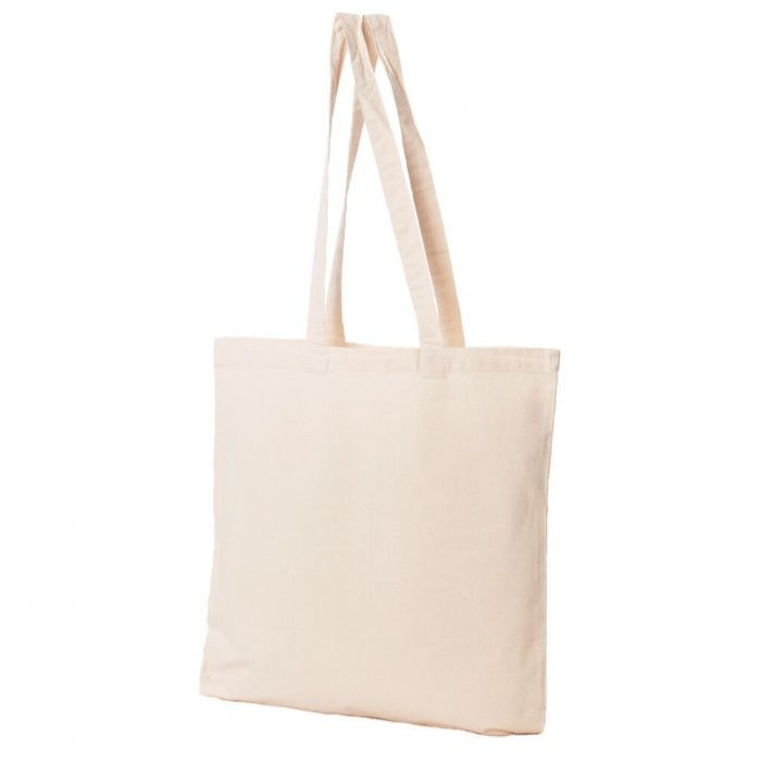 Materiałowa torba bawełniana ecru 200gr 38x42 - 00