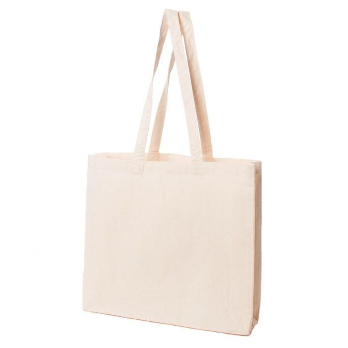 Materiałowa torba bawełniana ecru 200gr 42x38 - 02