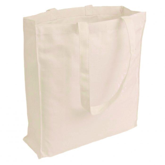 Materiałowa torba bawełniana ecru 380gr 38x42 - 06