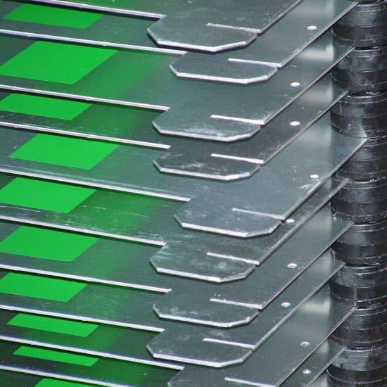 Druk na metalu sitodruk na aluminium