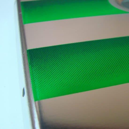 Druk na metalu sitodruk oparcia aluminiowe