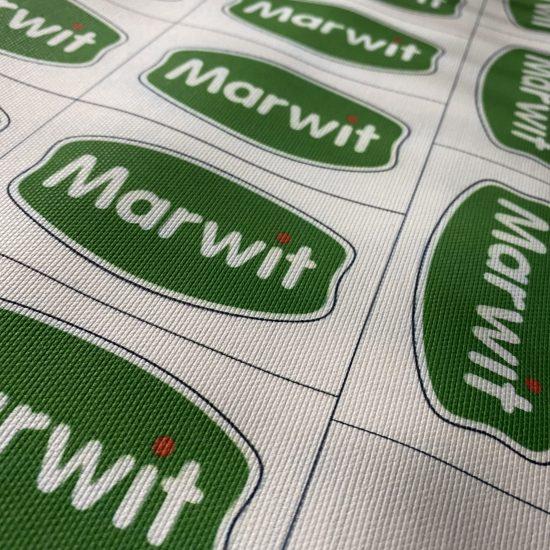 Nadruk DTG na bawełnie canvas Marwit