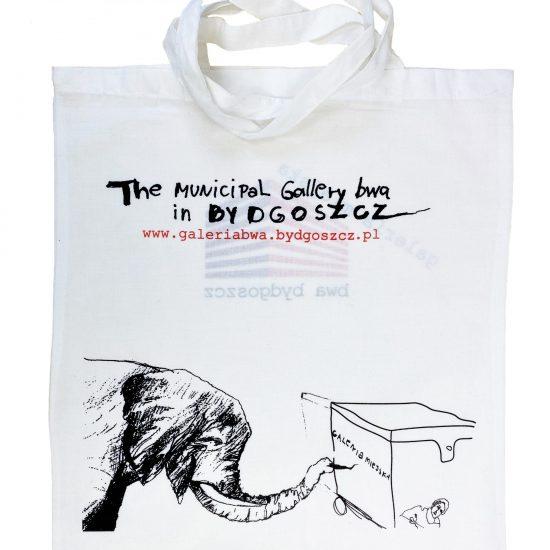 Bawełniane torby materiałowe z nadrukiem sitodruk