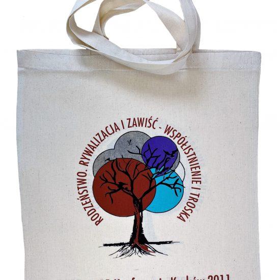 Ekologiczne torby bawełniane z nadrukiem sitodrukowym