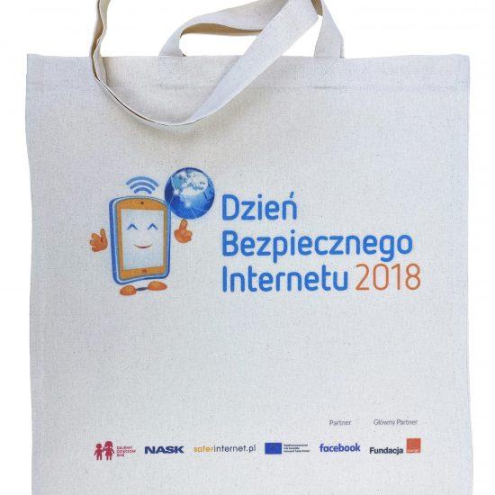 Ekologiczne torby z bawełny z nadrukiem DTG