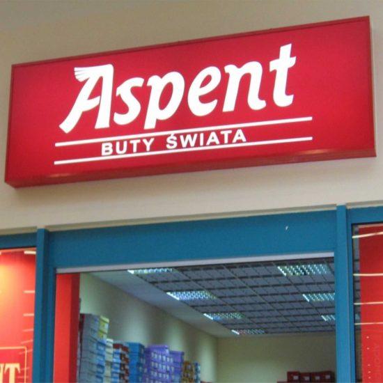 kaseton reklamowy aspen