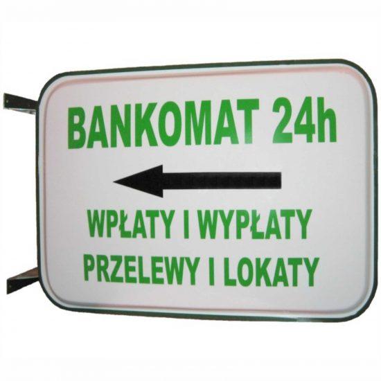 kaseton reklamowy bankomat