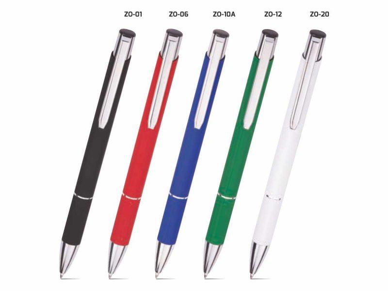 metalowy długopis reklamowy z grawerem zoe