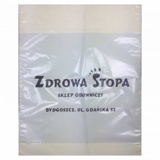 reklamówki foliowe torby z nadrukiem zdrowa stopa