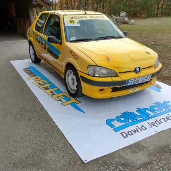 reklama na samochodach oklejanie pellet