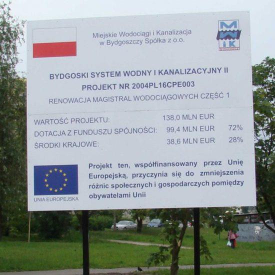 tablice informacyjne unijne