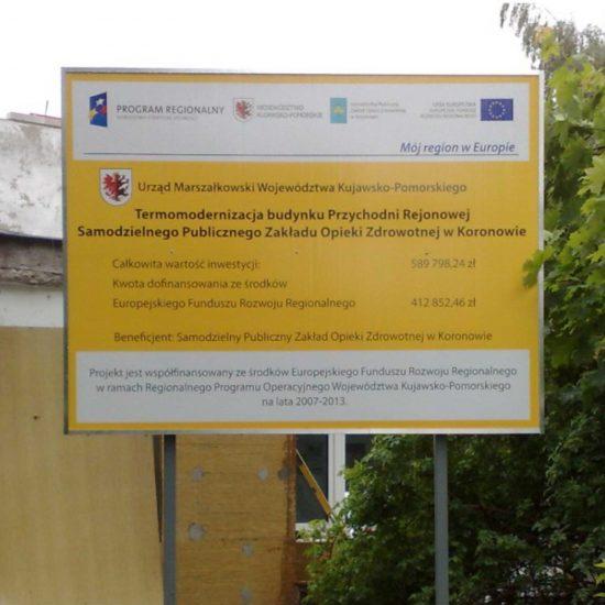tablice informacyjne unijne bydgoszcz