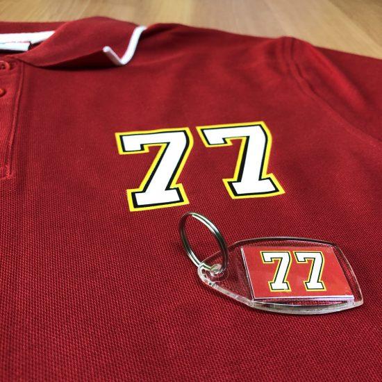koszulki z nadrukiem numer 77