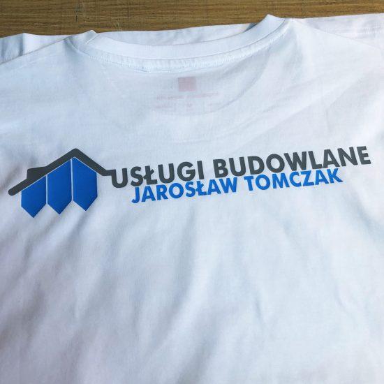 nadruk na koszulkach firmowych