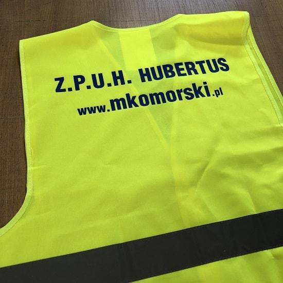 Kamizelki BHP odblaskowe z nadrukiem Drukarnia Bydgoszcz