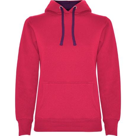 Bluza z wlasnym nadrukiem Roly damska rozowa ciemna