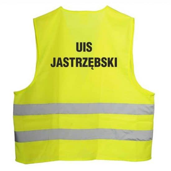 Kamizelka odblaskowa z nadrukiem Jastrzebski