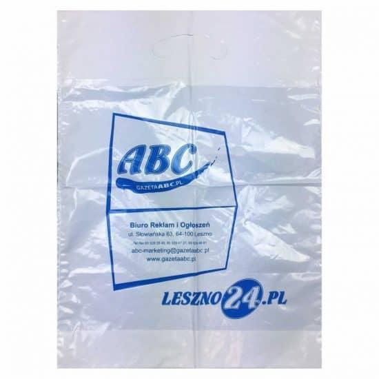 torby foliowe z nadrukiem abc