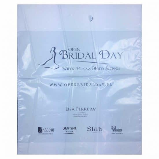 torby foliowe z nadrukiem bridal