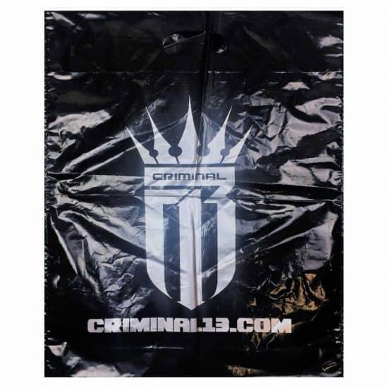 torby foliowe z nadrukiem criminal