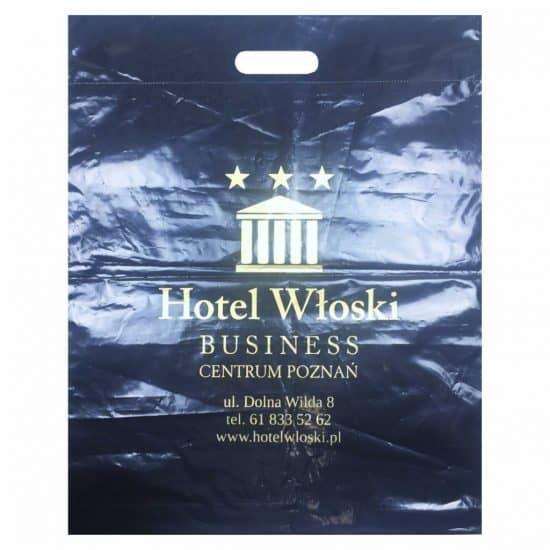 torby foliowe z nadrukiem hotel wloski