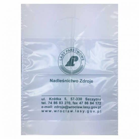 torby foliowe z nadrukiem nadlesnictwo